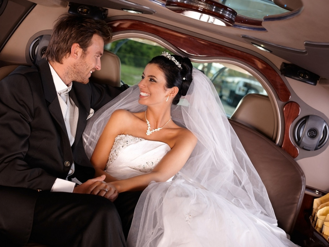 Ride in luxury on your big day